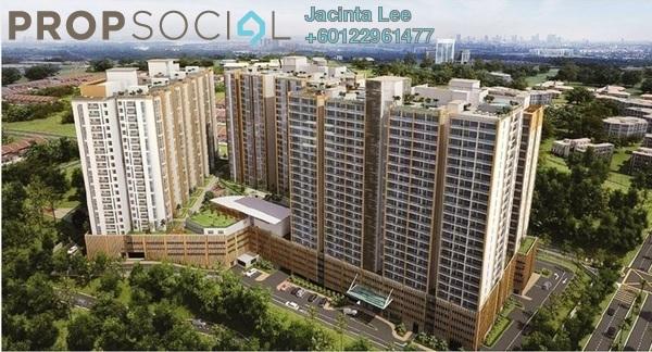 Serviced Residence For Sale in KSL Residences @ Daya, Johor Bahru Freehold Semi Furnished 3R/3B 297k