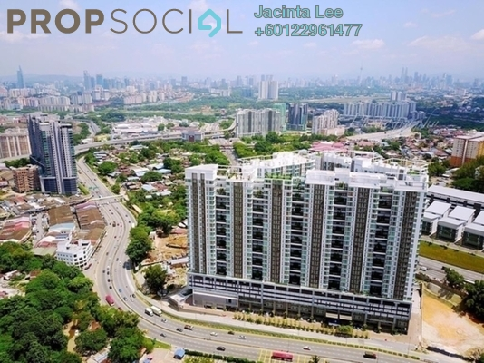 Serviced Residence For Sale in Central Residence, Sungai Besi Freehold Semi Furnished 3R/2B 385k