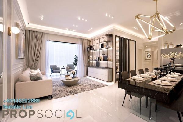 Condominium For Sale in M Arisa, Sentul Freehold Semi Furnished 3R/2B 446k