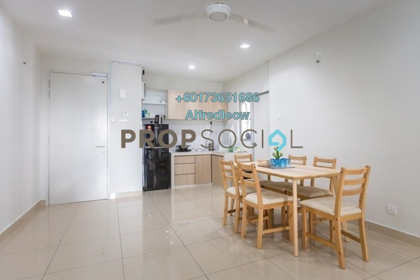 Condominium For Rent in Maxim Citilights, Sentul Freehold Fully Furnished 3R/2B 1.5k