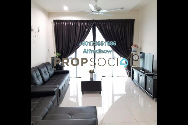 Condominium For Rent in M3 Residency, Gombak Freehold Semi Furnished 4R/2B 1.4k