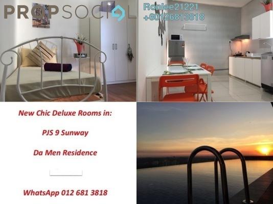 Condominium For Rent in Da Men, UEP Subang Jaya Freehold Fully Furnished 1R/1B 650translationmissing:en.pricing.unit