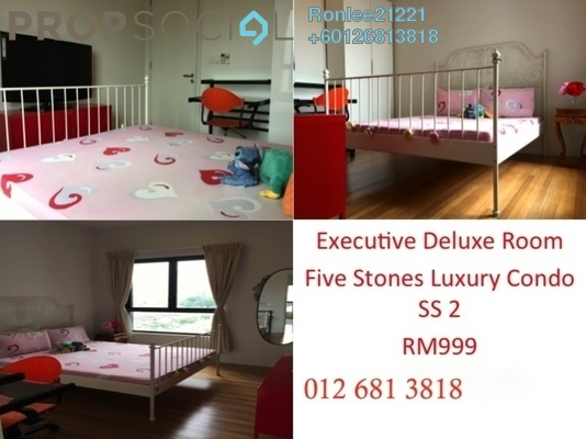 Condominium For Rent in Five Stones, Petaling Jaya Freehold Fully Furnished 1R/1B 1.2k