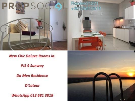 Terrace For Rent in PJS 9, Bandar Sunway Freehold Fully Furnished 1R/1B 699translationmissing:en.pricing.unit