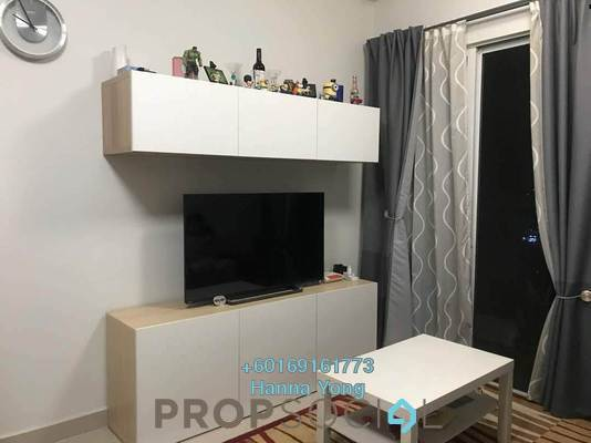 Serviced Residence For Sale in Pacific Place, Ara Damansara Leasehold Fully Furnished 2R/2B 560k