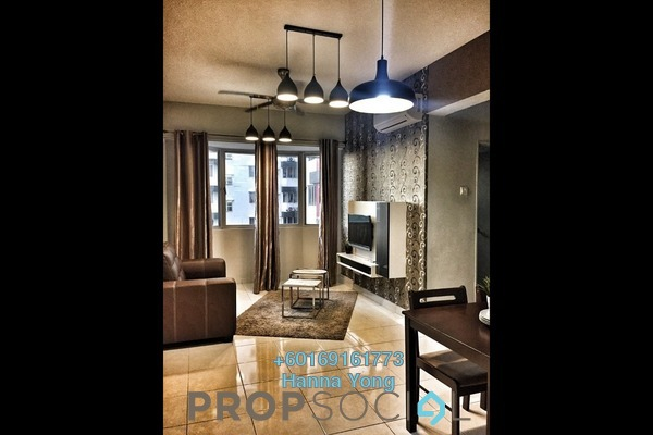 Serviced Residence For Sale in Main Place Residence, UEP Subang Jaya Freehold Fully Furnished 2R/1B 348k
