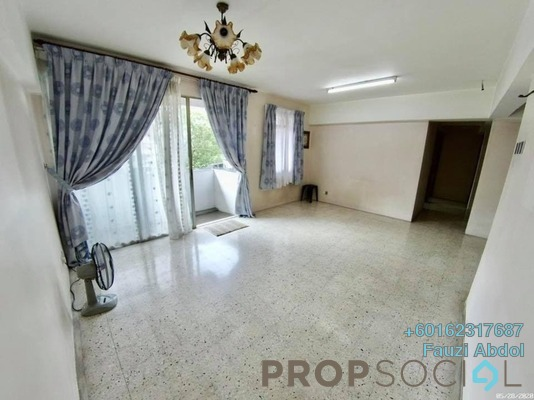 Apartment For Sale in Dahlia Apartment, Pandan Indah Leasehold Semi Furnished 3R/2B 305k