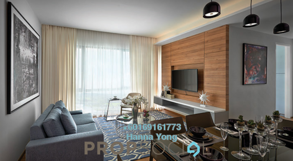 Serviced Residence For Rent in The Potpourri, Ara Damansara Freehold Fully Furnished 2R/2B 3.3k