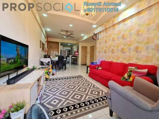 Apartment For Sale in Damai Apartment, Tropicana Freehold Unfurnished 3R/2B 335k