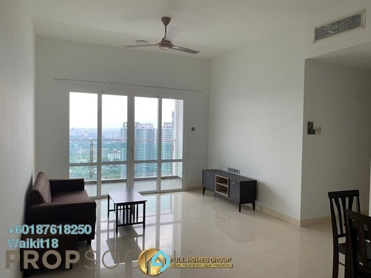 Condominium For Rent in TriTower Residence, Johor Bahru Freehold Semi Furnished 2R/2B 2k