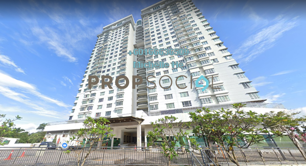Apartment For Sale in Zennith Suites, Johor Bahru Leasehold Semi Furnished 0R/1B 285k