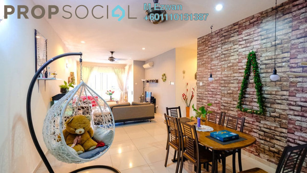 Condominium For Sale in 1Sentul, Sentul Freehold Unfurnished 3R/2B 595k