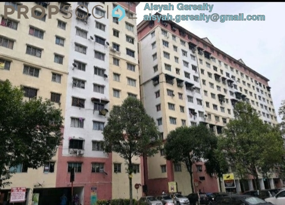 Apartment For Sale in Segar Ria Apartment, Cheras Freehold Unfurnished 3R/2B 189k