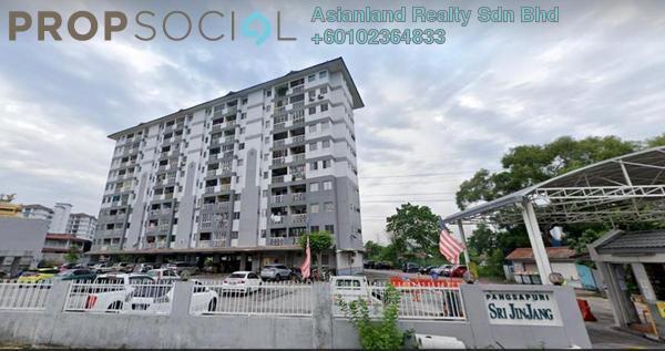 Apartment For Rent in Sri Jinjang Apartment, Jinjang Freehold Semi Furnished 3R/2B 950translationmissing:en.pricing.unit
