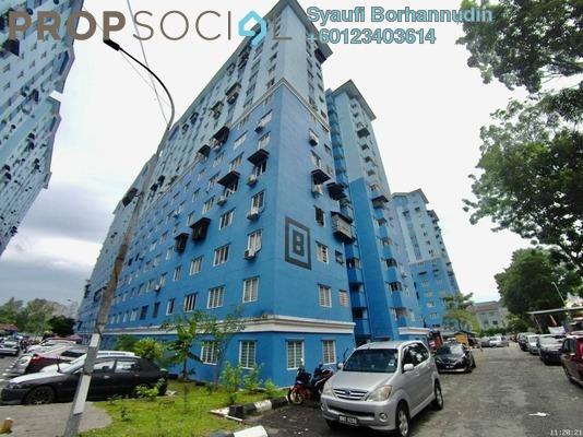 Apartment For Sale in Sri Rakyat Apartment, Bukit Jalil Freehold Unfurnished 3R/1B 220k