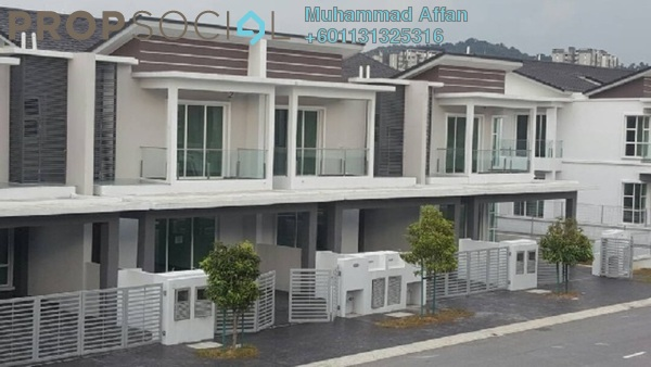 Terrace For Rent in Anggun 2, Setia Alam Freehold Fully Furnished 5R/5B 2.6k