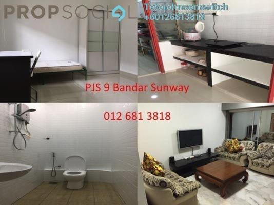 Terrace For Rent in PJS 9, Bandar Sunway Freehold Fully Furnished 1R/1B 750translationmissing:en.pricing.unit
