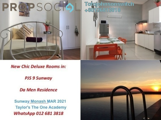 Condominium For Rent in Da Men, UEP Subang Jaya Freehold Fully Furnished 1R/1B 699translationmissing:en.pricing.unit