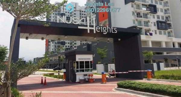 Serviced Residence For Sale in Nusa Heights, Iskandar Puteri (Nusajaya) Freehold Semi Furnished 3R/2B 308k