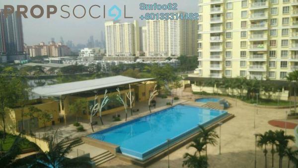 Condominium For Rent in Platinum Lake PV10, Setapak Freehold Fully Furnished 3R/2B 1.3k