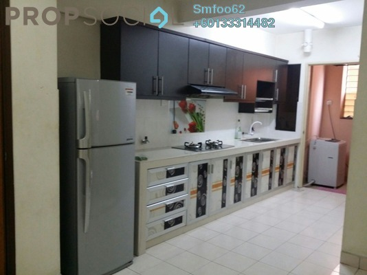 Condominium For Rent in Putra Villa, Gombak Freehold Fully Furnished 3R/2B 1.8k