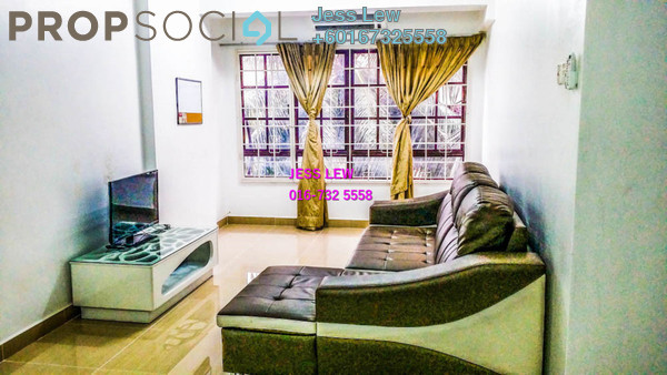 Condominium For Sale in Bayu Tasik 1, Bandar Sri Permaisuri Freehold Fully Furnished 3R/2B 450k
