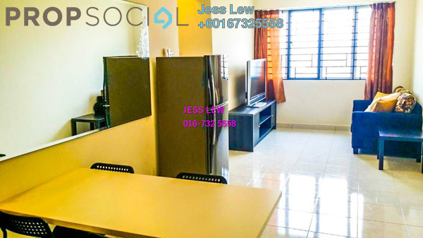 Condominium For Sale in Main Place Residence, UEP Subang Jaya Freehold Fully Furnished 2R/1B 420k
