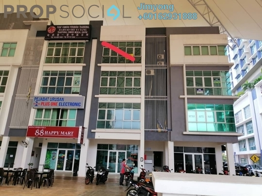 Office For Sale in Boulevard Business Park, Jalan Ipoh Freehold Semi Furnished 1R/2B 980k