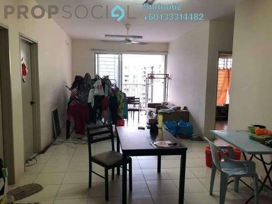 Condominium For Rent in Platinum Lake PV13, Setapak Freehold Semi Furnished 4R/2B 1.8k