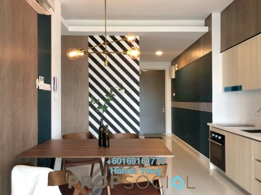 Condominium For Rent in Vivo Residential @ 9 Seputeh, Old Klang Road Freehold Fully Furnished 2R/2B 2.25k