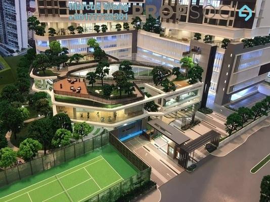 Serviced Residence For Sale in Panorama Residences, Kelana Jaya Freehold Semi Furnished 2R/1B 575k