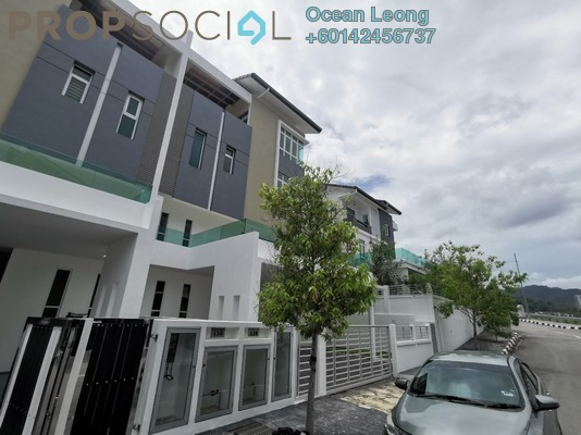 Superlink For Sale in Cypress Villa, Sungai Ara Freehold Unfurnished 5R/5B 1.8m