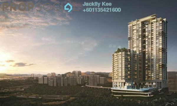 Condominium For Sale in The Como, Bukit Jalil Freehold Semi Furnished 2R/2B 650k