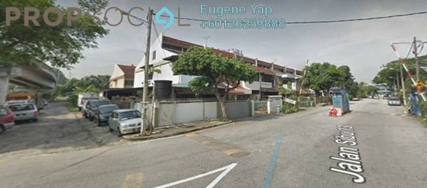 Terrace For Sale in Taman Wahyu, Jalan Ipoh Freehold Unfurnished 4R/3B 1.3m