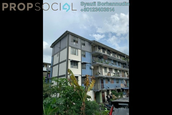 Apartment For Sale in Section 10 Flat, Wangsa Maju Leasehold Unfurnished 2R/1B 220k