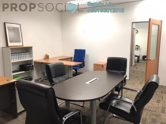 Office For Rent in Strata Office Suites @ KL Eco City, Mid Valley City Freehold Fully Furnished 0R/0B 1.4k