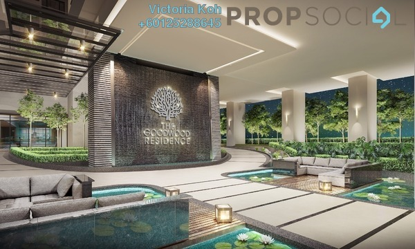 Serviced Residence For Sale in The Goodwood Residence, Bangsar South Freehold Semi Furnished 4R/3B 857k
