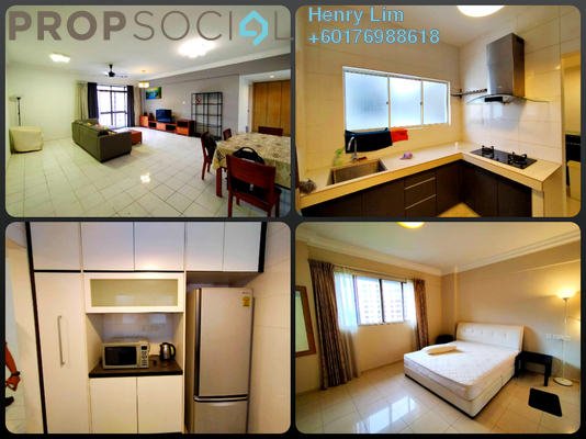 Serviced Residence For Rent in Cascadium, Bangsar Freehold Fully Furnished 2R/2B 3.3k