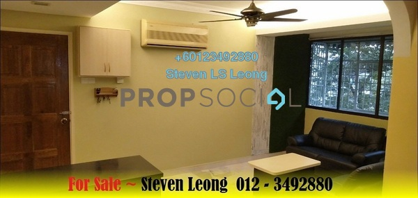 Apartment For Sale in Happy Garden, Old Klang Road Freehold Semi Furnished 3R/1B 318k