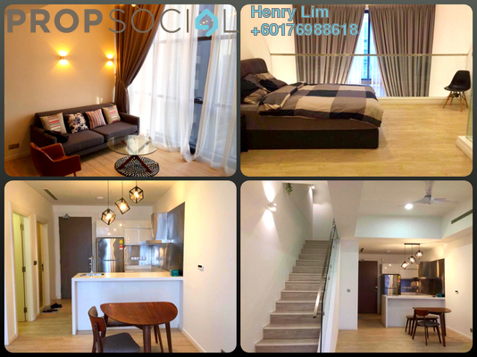 Duplex For Sale in M City, Ampang Hilir Freehold Fully Furnished 1R/2B 880k