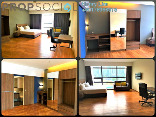 SoHo/Studio For Rent in Bangsar Trade Centre, Pantai Freehold Fully Furnished 0R/1B 1.3k
