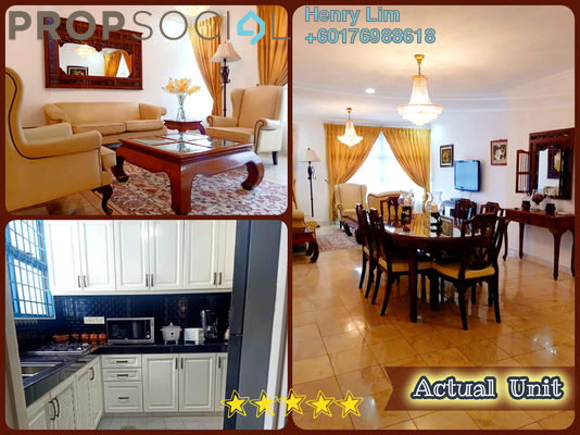 Condominium For Rent in Impiana On The Waterfront, Ampang Freehold Fully Furnished 2R/2B 2.5k