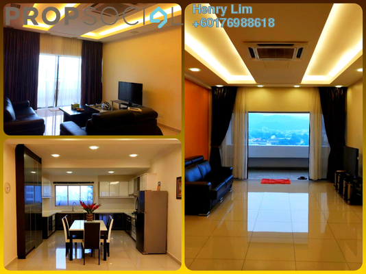Condominium For Sale in GCB Court, Ampang Hilir Freehold Semi Furnished 3R/3B 690k