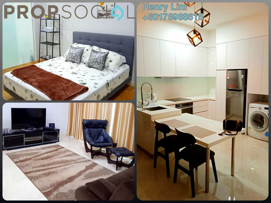 Serviced Residence For Rent in Vogue Suites One @ KL Eco City, Mid Valley City Freehold Fully Furnished 1R/1B 2.6k