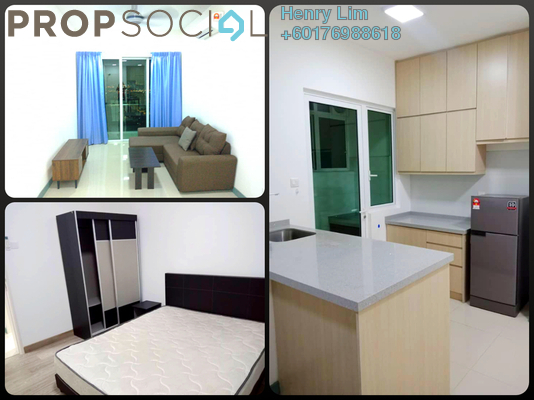 Serviced Residence For Rent in Southbank Residence, Old Klang Road Freehold Fully Furnished 3R/2B 2k