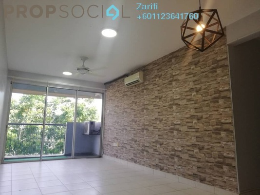 Condominium For Rent in Cyberia SmartHomes, Cyberjaya Freehold Semi Furnished 3R/2B 1.2k