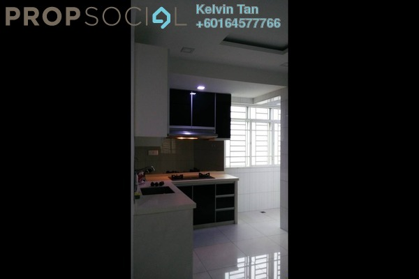 Apartment For Rent in Ixora Heights, Sungai Nibong Freehold Semi Furnished 3R/2B 1.2k