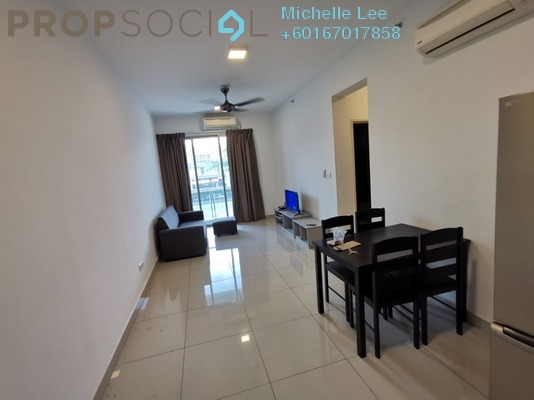 Serviced Residence For Sale in Austin Suites, Tebrau Freehold Fully Furnished 1R/1B 295k