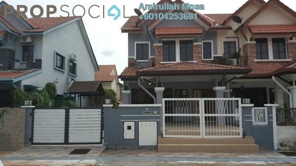Terrace For Sale in Nilam Puri, Bandar Bukit Puchong Freehold Semi Furnished 4R/3B 749k