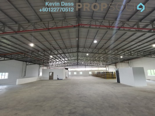 Factory For Rent in Kampung Baru Subang, Shah Alam Freehold Semi Furnished 3R/2B 9.8k